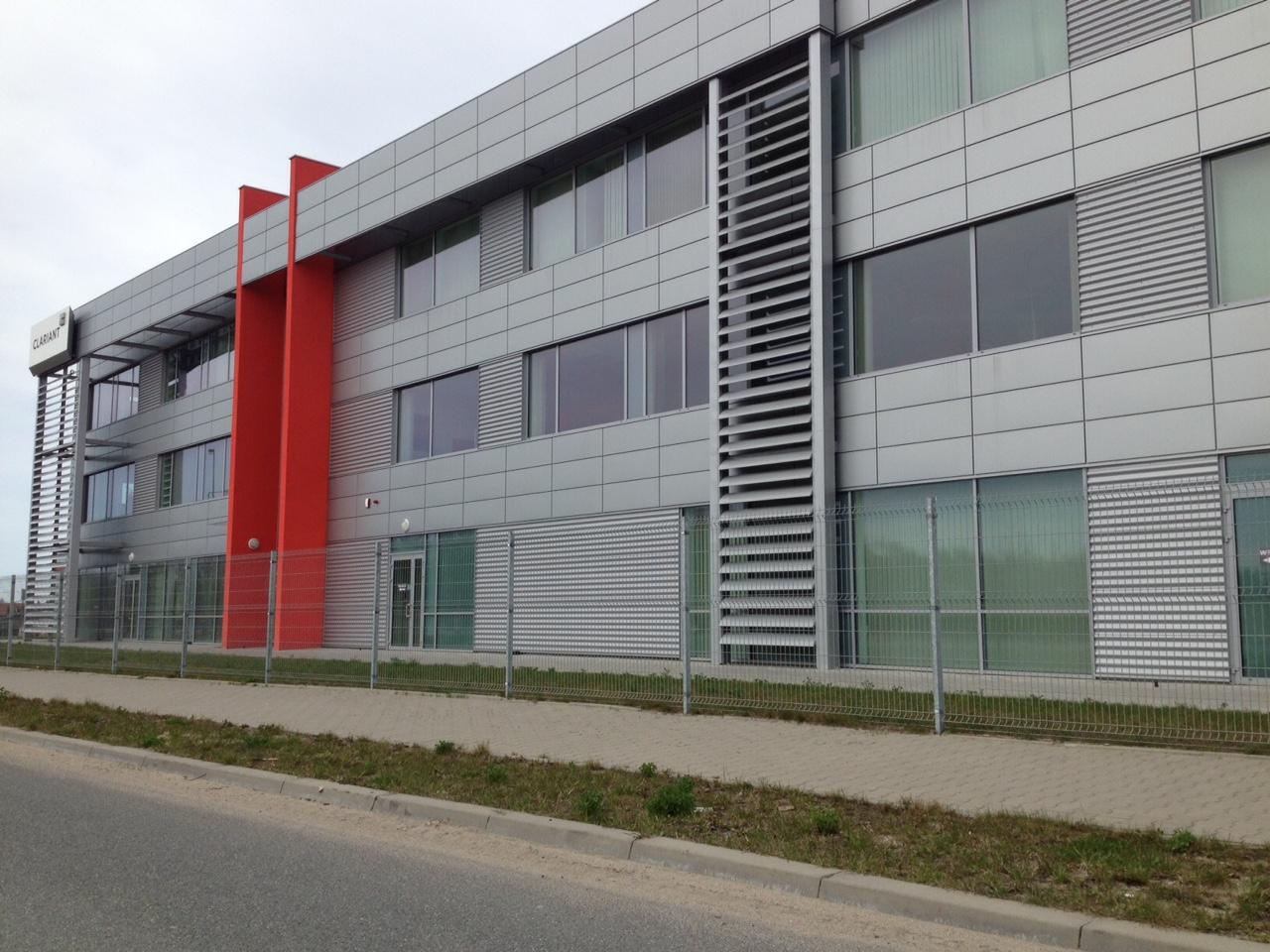 Clariant okna aluminiowe Suncool 3